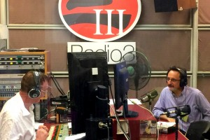 Christopher Dillon on RTHK Radio 3
