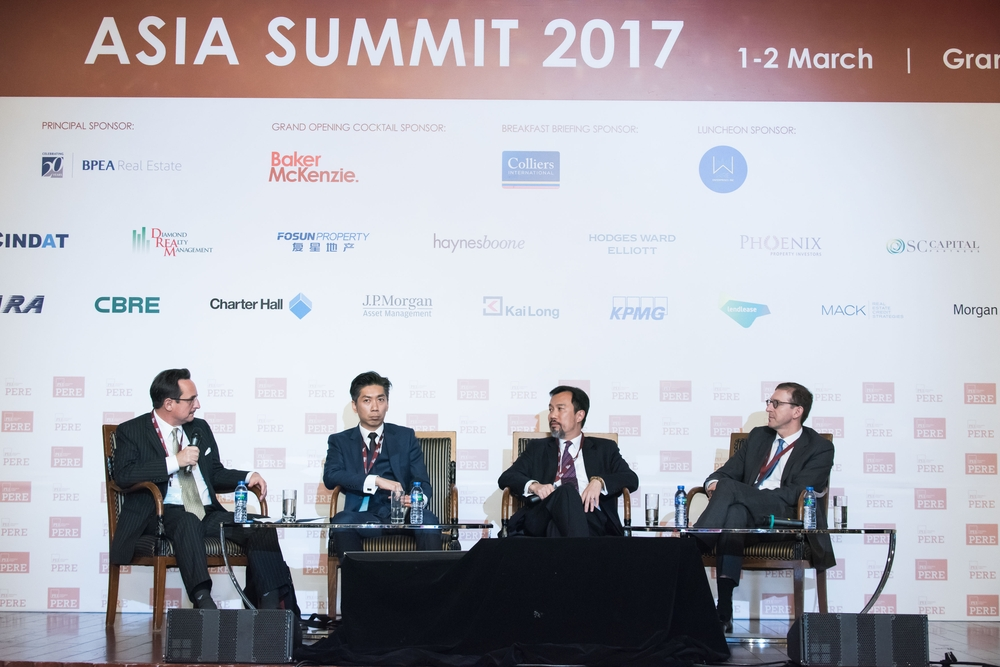 PERE China panel discussion on March 2, 2017