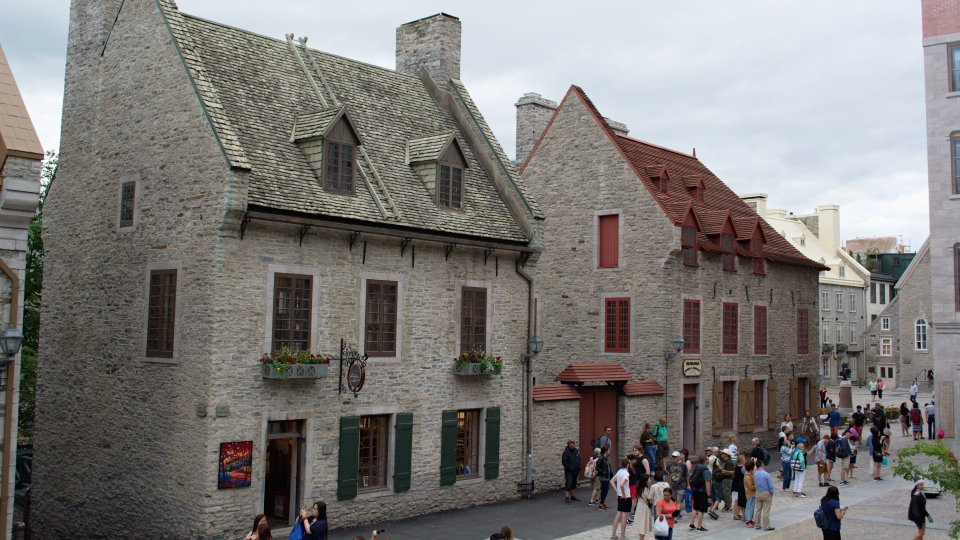 Heritage buildings in Quebec City, Canada