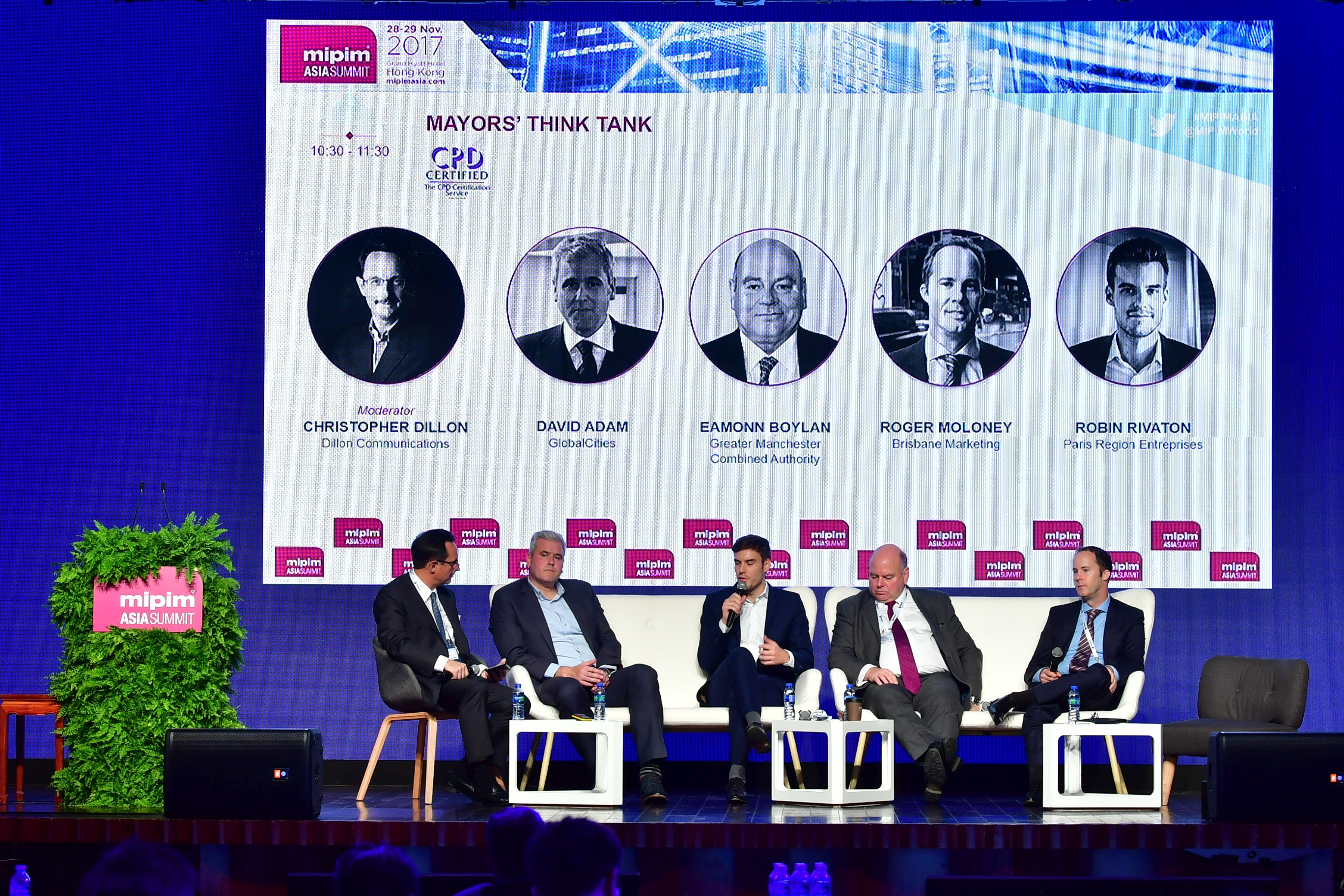 The Mayors' Think Tank at the MIPIM Asia Summit