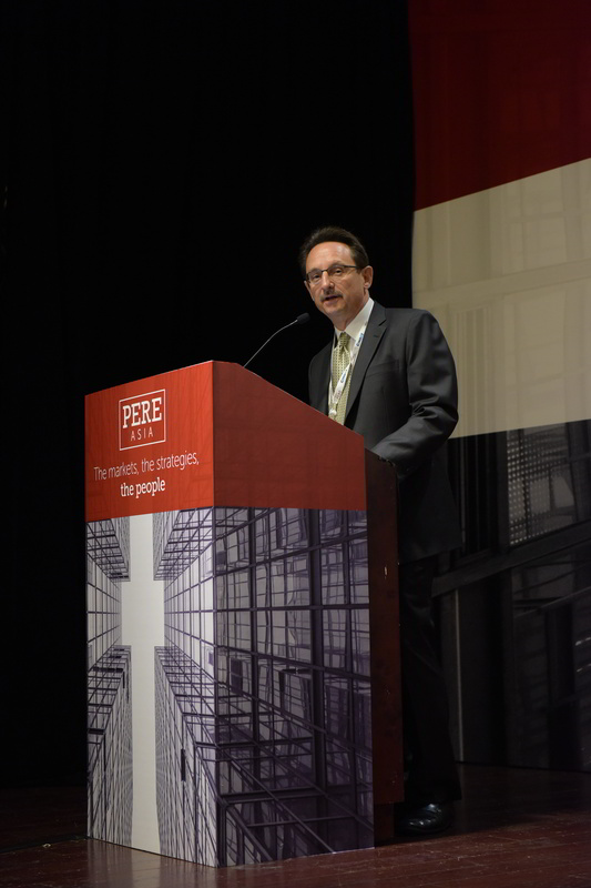 Christopher Dillon at the PERE Asia Summit in Hong Kong
