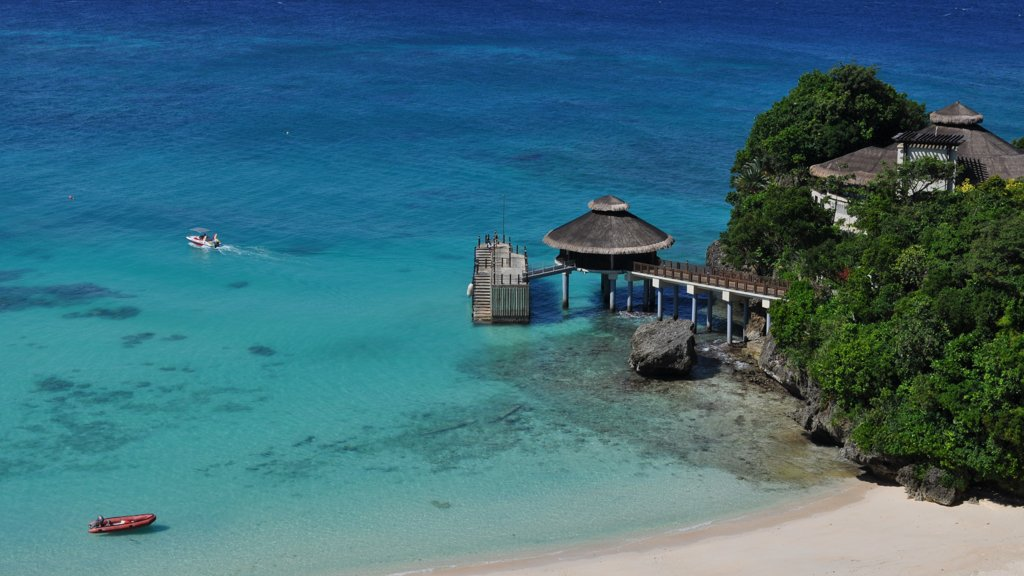 The Island of Boracay in the Philippines